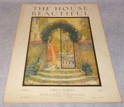Antique Vintage  House Beautiful Magazine March 1918 Garden Issue - $39.95