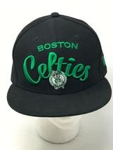 Boston Celtics 59Fifty New Era NBA Hardwood Classics Black 7 3/8 Fitted Hat - $29.65