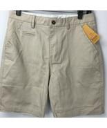 Jio Yen Boys Shorts Uniform Type Beige 2 Front Slash Pockets 2 Buttoned ... - $12.86