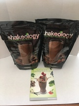 SHAKEOLOGY CHOCOLATE SHAKE- TWO BAGS - 30 DAY SUPPLY EACH -FREE PRIORITY... - $185.95