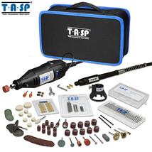 TASP 220V 130W Rotary Tool Set Electric Mini Drill Engraver Kit with Att... - $63.16