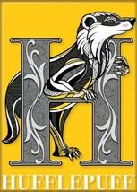 Harry Potter Hufflepuff Creature Crest Logo Image Refrigerator Magnet NEW UNUSED - $3.99