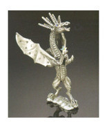 Orbit Dancing with the Stars Dragon Pewter Figurine Rawcliffe US Made - $42.08