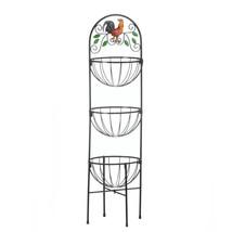 Kitchen Vegetable Basket, Rustic Large Organizing Baskets For Kitchen St... - $39.08