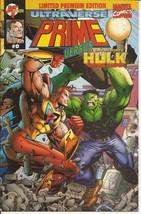 Malibu Marvel Ultraverse Prime Versus Incredible Hulk #0 Limited Premium... - $4.95