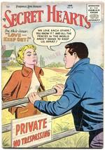 Secret Hearts #31 1956-DC Romance Vg - $27.74