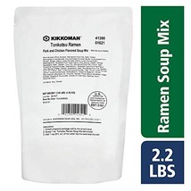 Kikkoman 2.2 LB Tonkotsu Ramen Soup Mix for Foodservice Use image 1