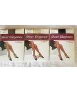 Hanes Women's Sheer Elegance Ultra Sheer Control Top, Diff Size & Color ... - $5.98