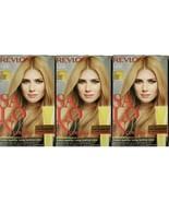 (3) Revlon Salon Color Permanent Dye Color Booster Kit 8G Medium Golden ... - $27.71