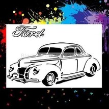 40 Ford Coupe Airbrush Stencil,Template - $10.99