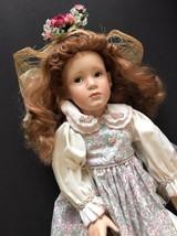 Caroline Porcelain Doll by Pamela Phillips Georgetown Collection - $30.29