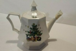 Nikko Classic Collection Holiday Christmas Time Teapot - $71.99