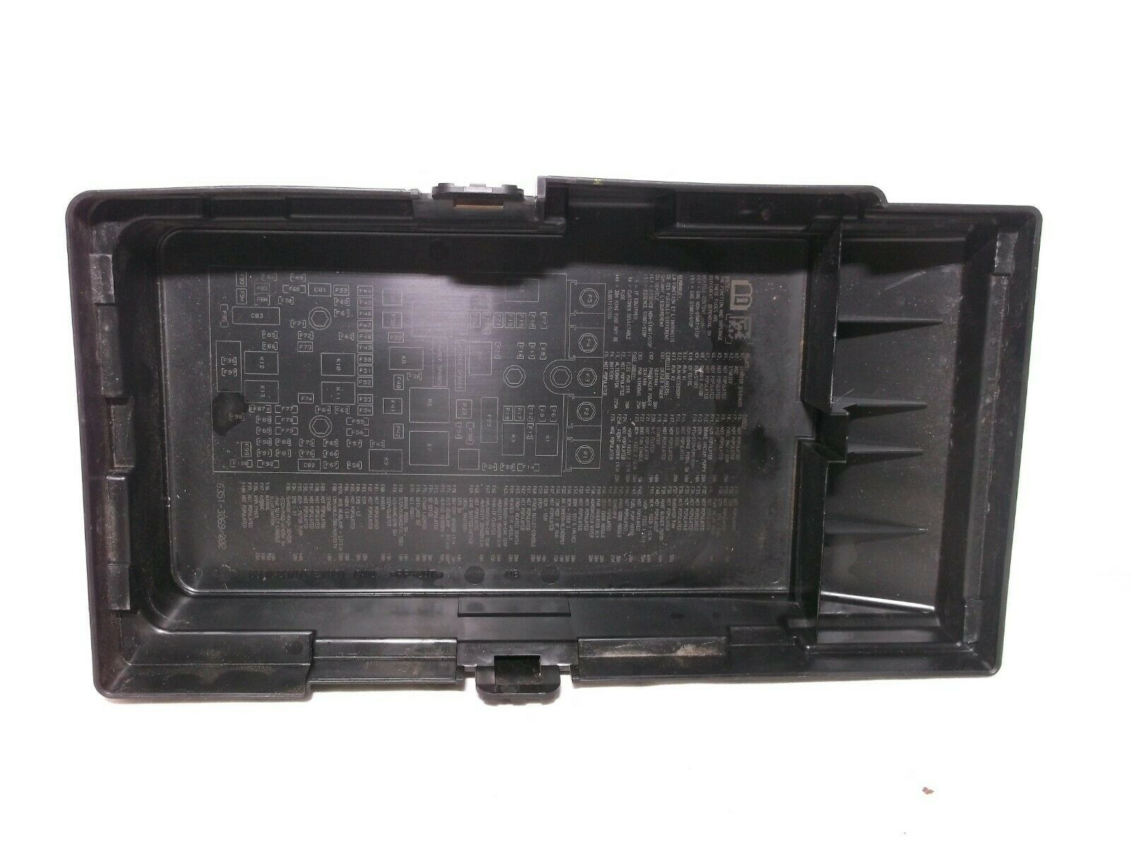 2015  15 Chrysler 200    2 4l   Fuse   Relay   Box   Lid   Cover Only