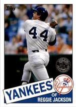 2020 Topps 1985 Style Reggie Jackson #85-73 - $3.00