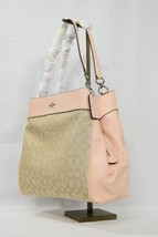 Coach F27579 Lexy Shoulder Bag in Signature Fabric and Leather Light Kha... - $249.00