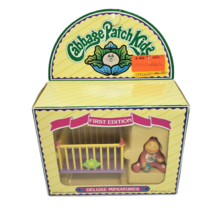 VINTAGE 1984 CABBAGE PATCH KIDS DELUXE MINIATURES FIGURINE BABY DOLL W/ ... - $28.05