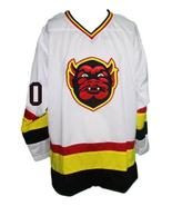 Custom Name # St Paul Vulcans Retro Hockey Jersey New White Any Size - $54.99+