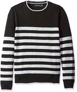 Nautica Men's Breton Striped Sweater, True Black, Size XXL, MSRP $148 - $54.44