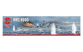 Airfix HMS Hood 1600 Vintage Classics Military Naval Ship Plastic Model ... - $25.88