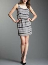 Romeo Juliet Coture dress Silver beaded sequin sheer formal prom M NWT d... - $29.99