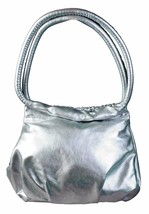 Hello Kitty Silver Mini Bubble Bag Black Sequin Bow image 2