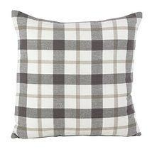 Fennco Styles Tartan Plaid Pattern Traditional Cotton Down Filled Throw ... - $36.62