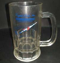 Crystal Pools Inc. 16 oz Rubbermaid Plastic Beer Mug Vintage Advertising... - $13.31