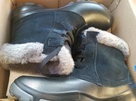 NewColumbia Women Sierra Summette Shorty Waterproof Winter Snow Boot Black Sz 9 - $89.09