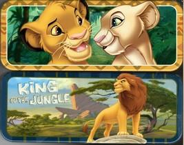 Disney The Lion King - Metal Tin Case Pencil Box Storage (Set of 2) - $17.81