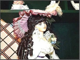 Doll Porcelain 22″ with Certificate of Authenticity AB 51 Vintage - $59.95