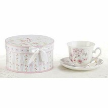 "Delton 3.5"" Porcelain Cup/Saucer, Poppyseed - $22.88"