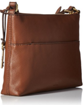Fossil Fiona E/w Crossbody Medium Brown - $123.00