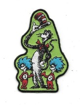 Dr. Seuss' TV The Cat In The Hat with Thing 1 and Thing 2 Embroidered Pa... - $9.74