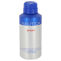 Nautica Voyage Sport Body Spray 5 Oz For Men  - $19.53