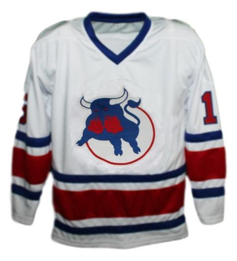 Custom Name # Birmingham Bulls Retro Hockey Jersey New Hanson White Any Size