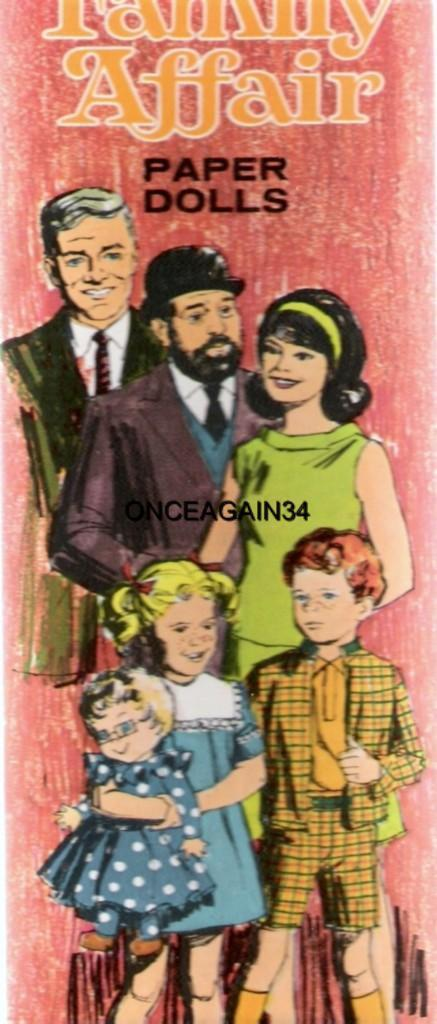 KENNEDY VINTAGE UNCUT ORIGINAL SZ 1960s MOTHER /& DAUGHTER PAPER DOLLS ~#1 REPRO