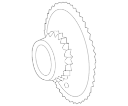 Genuine Mercedes-Benz Crankshaft Gear 271-052-19-03 - $154.45
