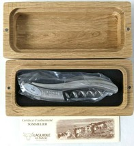 Laguiole en Aubrac Corkscrew Wine Opener in Stainless Steel with French ... - $148.49