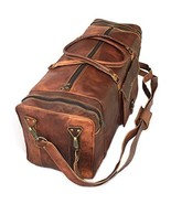 """30"""" Inch Real Goat Vintage Leather Large Handmade Travel Luggage Bags in... - $84.99"""