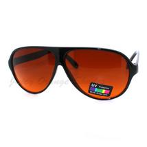 Racer Aviator Sonnenbrille Gelbe Gläser Block Blau Strahlen HD Schutz - $9.92
