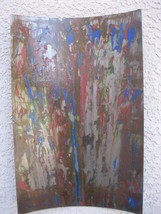 Metal Wall Art Sculpture Rustic Home Decor by Artist Holly Lentz - $89.00