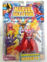 1997 Marvel Magneto X Men Action Figure Unmasked Hall Of Fame Series Toy... - $34.60