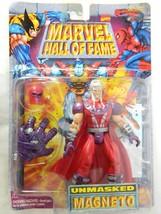 1997 Marvel Magneto X Men Action Figure Unmasked Hall Of Fame Series Toy Biz NOS - $34.60