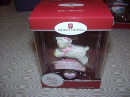 American Greetings 2011 Lamb Baby's 1st Christmas Ornament - Brand New In Box! - $9.00