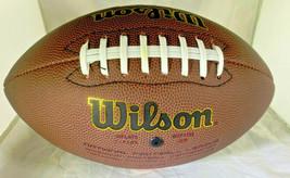 TROY POLAMALU / AUTOGRAPHED FULL SIZE WILSON BRAND NFL LOGO FOOTBALL / COA image 4