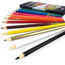 Helix Oxford Colouring Pencils  12 Assorted Colours in Metal Gift Tin - $5.99