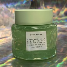 Glow Recipe 25mL Avocado Retinol Sleeping Mask Cute Size!