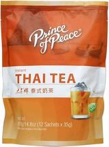 Prince Of Peace Instant Thai Tea 14.8OZ 12 Sachets - $29.70