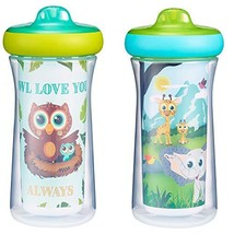 The First Years Insulated Sippy Cups 9 Oz - 2 Pack - $16.48