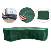 Outdoor L Shape Sofa Furniture Cover Rattan Cube Garden Patio Waterproof... - $59.50